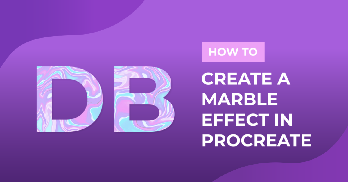 How to Create a Marble Effect in Procreate