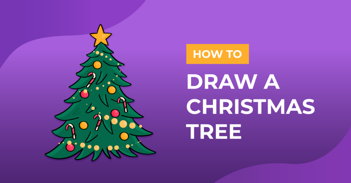 How to Draw a Christmas Tree
