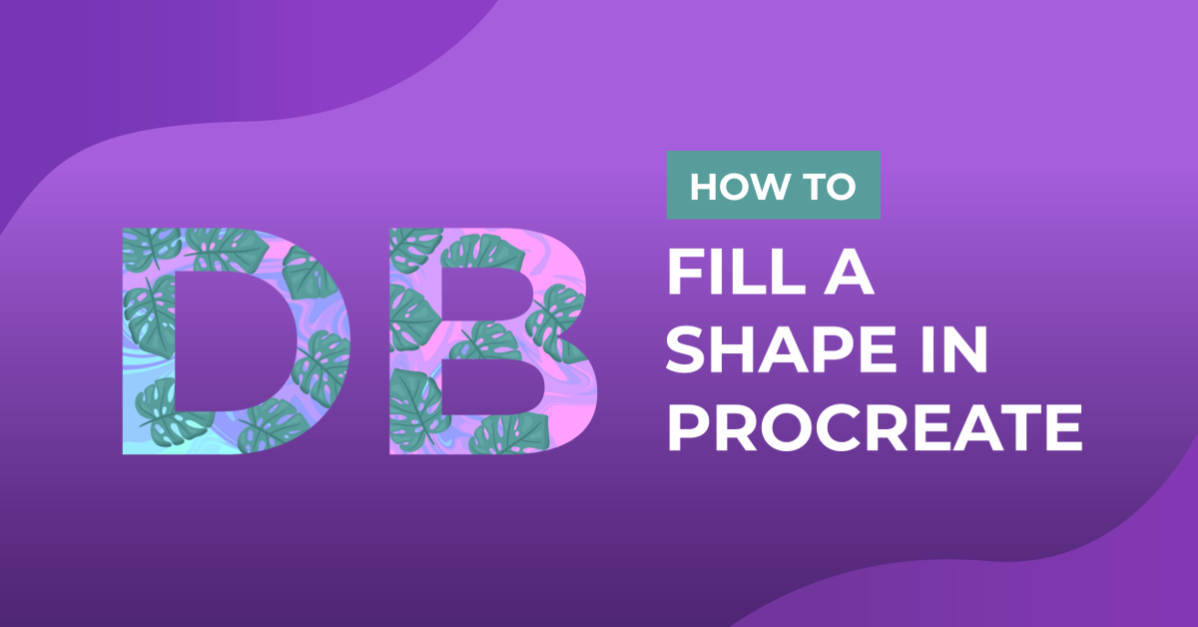 How to Fill a Shape in Procreate