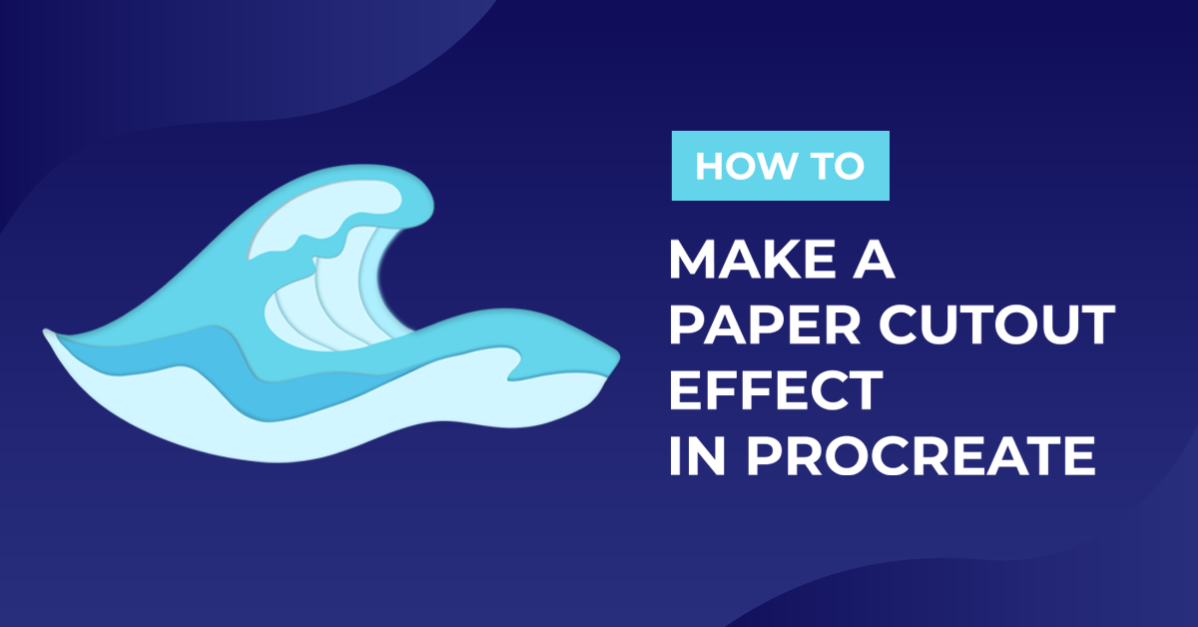 How to Make a Paper Cutout Effect in Procreate