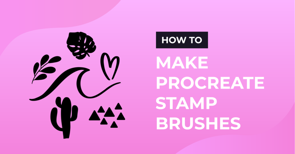 How to make Procreate Stamp Brushes