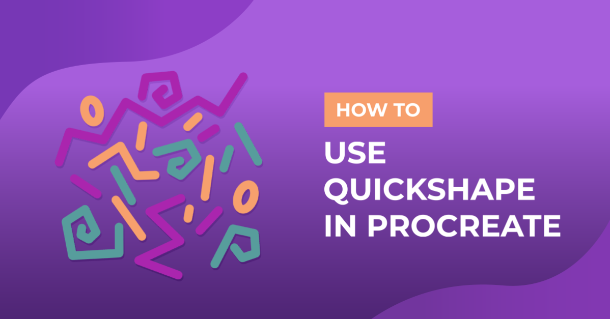 How to use QuickShape in Procreate