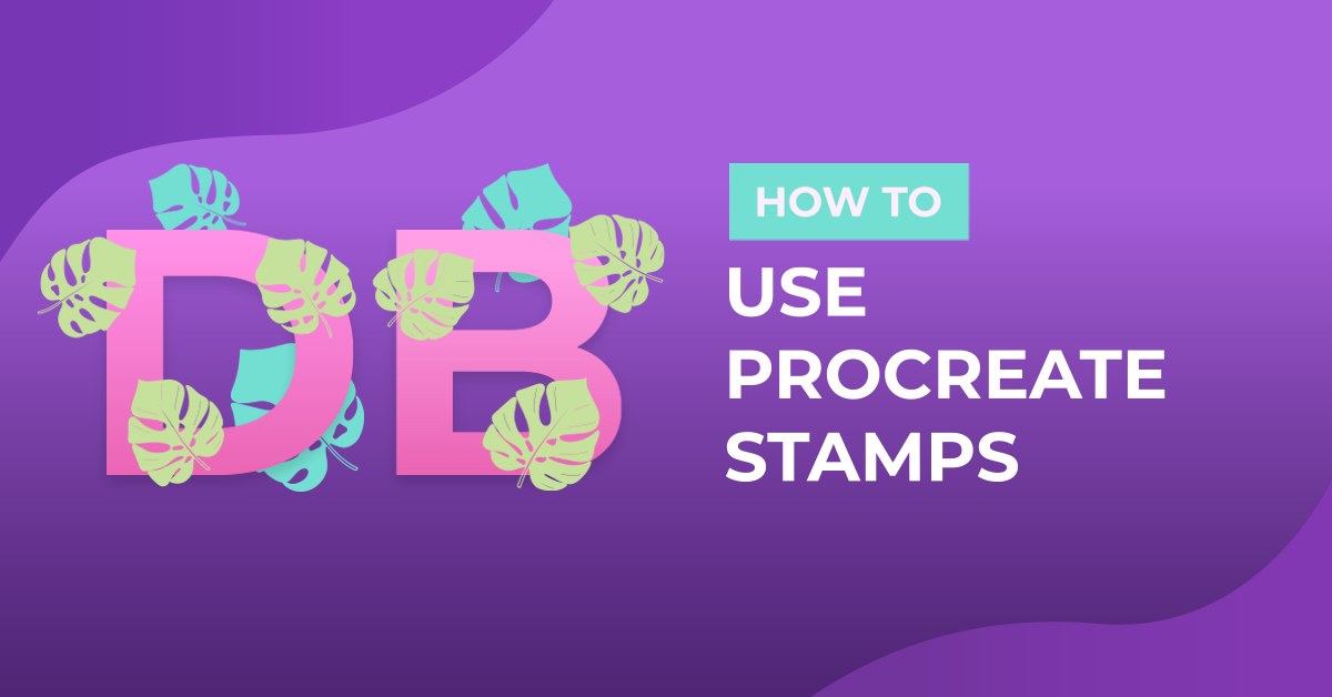 How to Use and Import Procreate Stamps