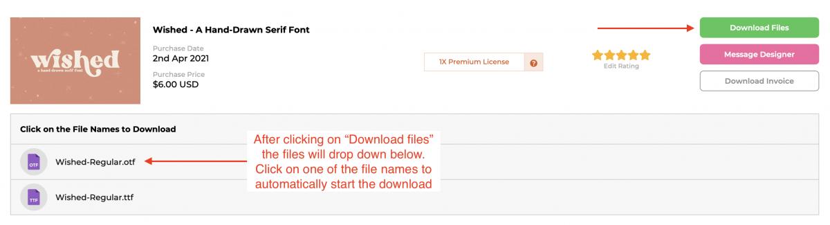 Font Bundles Downloads Page